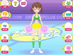Cheering Girl Dressup