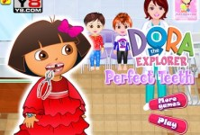 Dora The Explorer Perfect Teeth