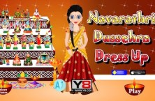 Navarathri Dussehra Dress Up