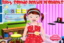Baby Sophie Dental Problem
