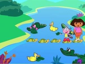 Dora The Explorer: Crocodile Lake