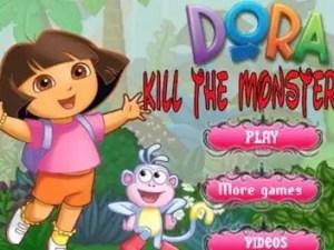 dora-kill-the-monsters