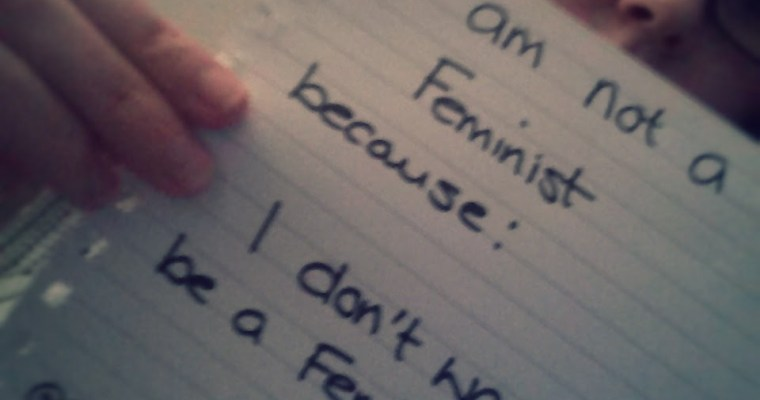 Why I am not a feminist