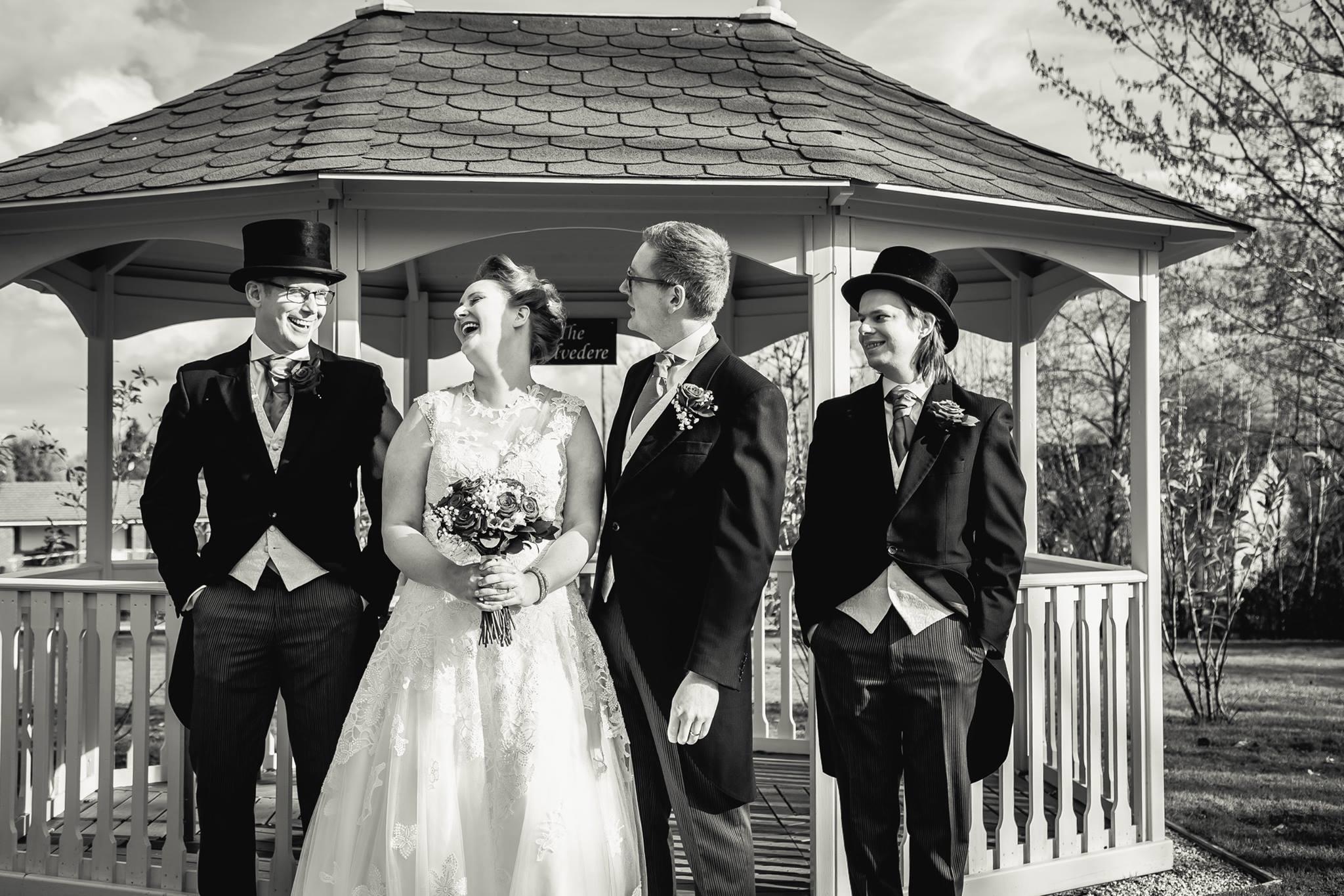 My weirdly wonderful geek wedding
