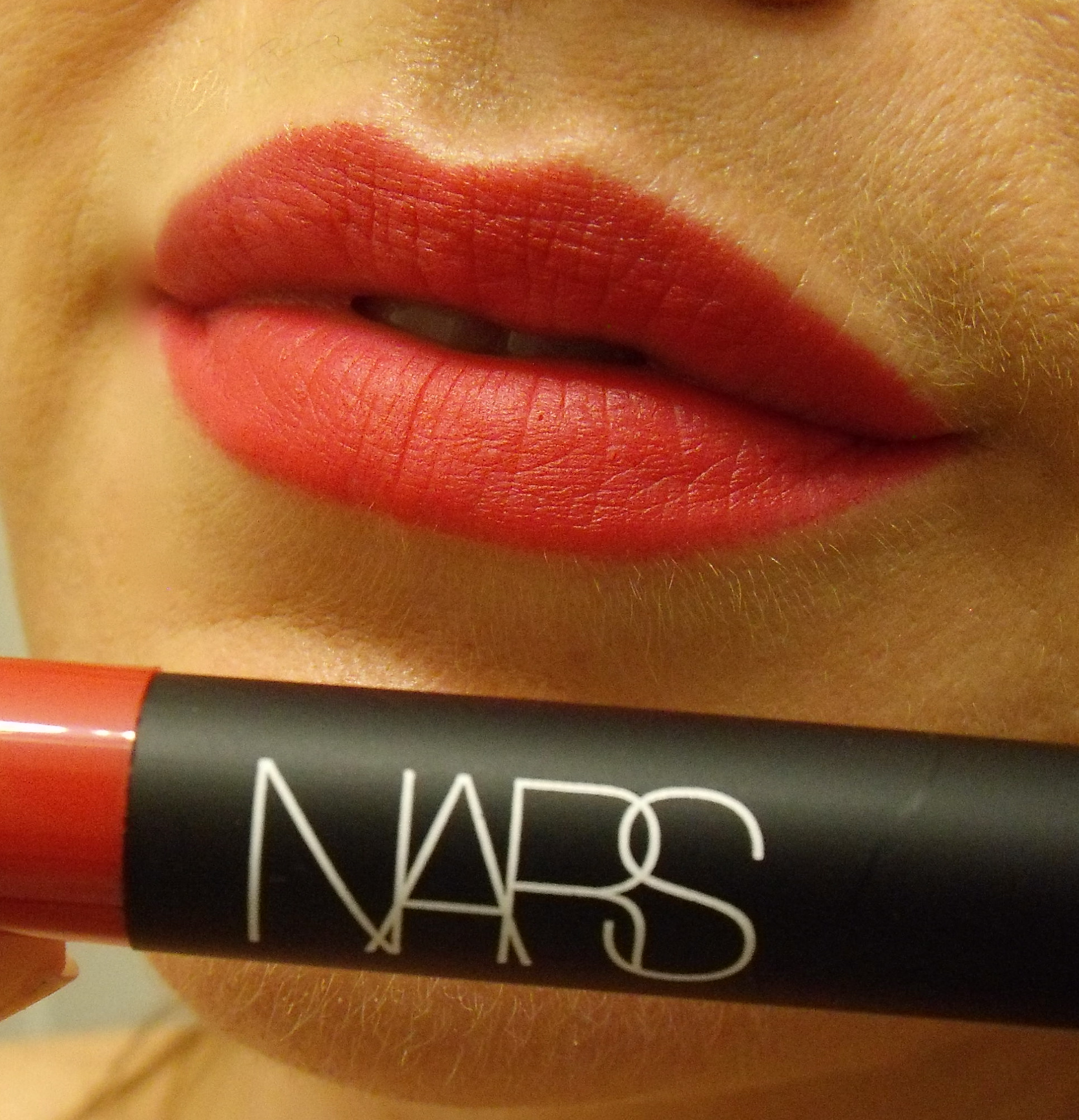 Review: Nars Velvet Matte Lip Pencil in Dragon Girl ...