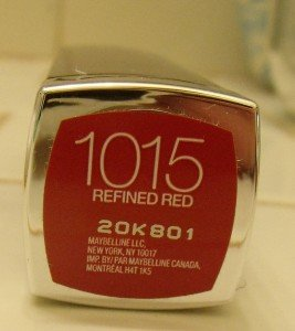 Maybelline Refined Red