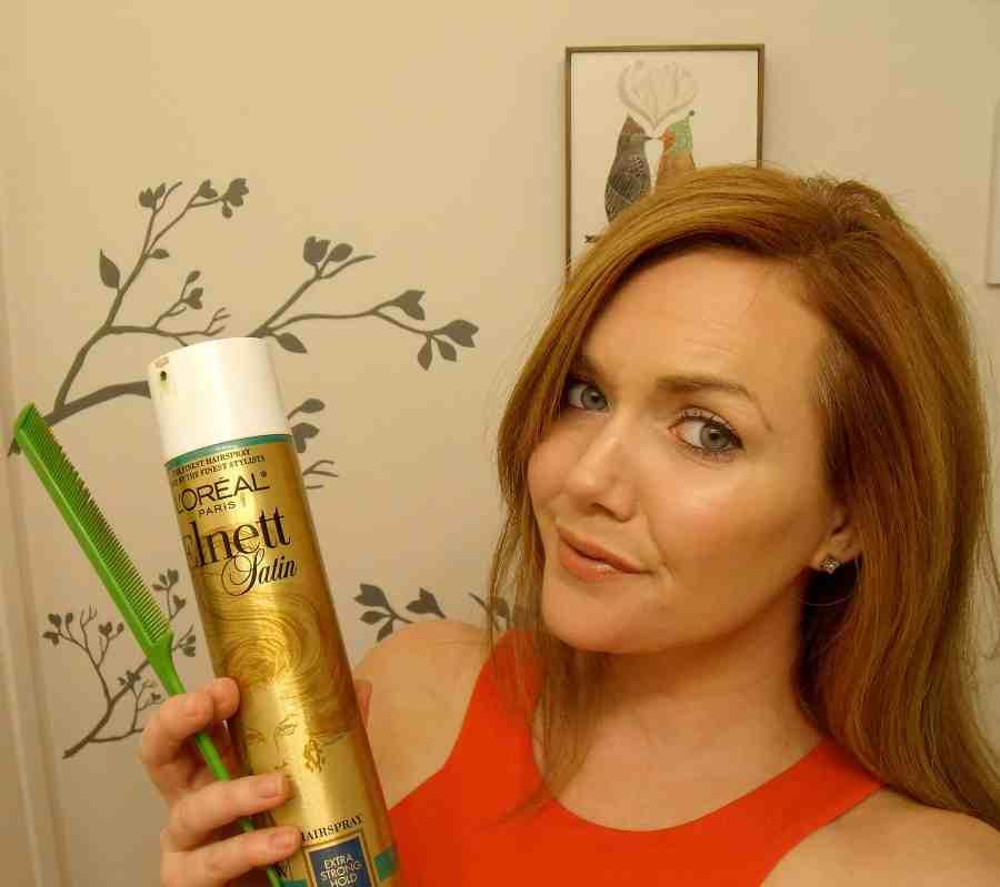 hairspray & comb