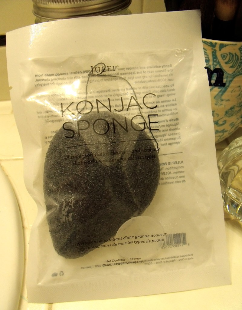 julep konjac sponge review demo before and after