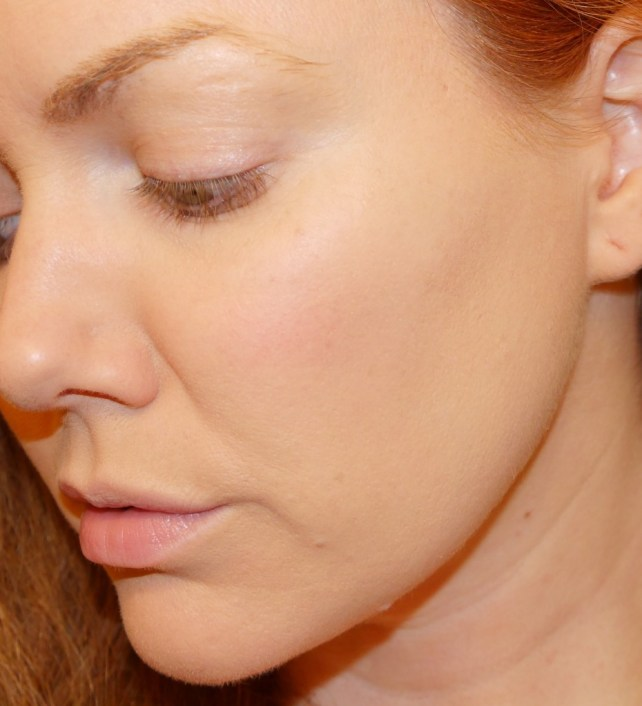 Skin with BB Cream and Foundation.