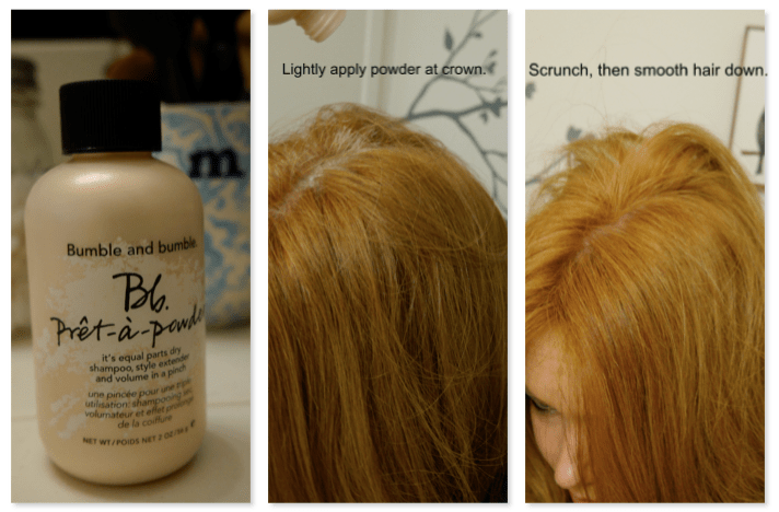 Lazy gal's guide to volume.