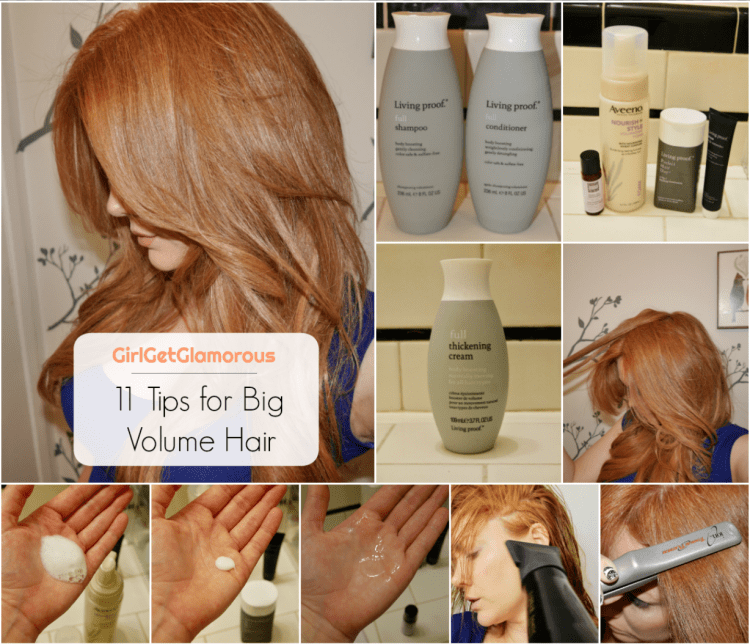 11 tips for big huge hair