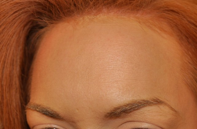 My Oompa Loompa moment, covered my face in bronzer to see if it pore-minimized.  Love it!