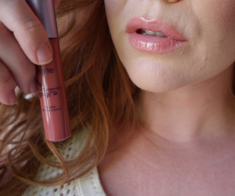 The perfect pink-nude lip gloss.