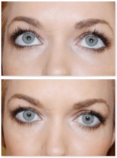 I love the whispy look of individual lashes.