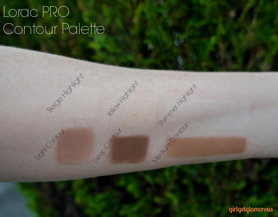 Lorac Pro Contour Palette Brush Review Swatches