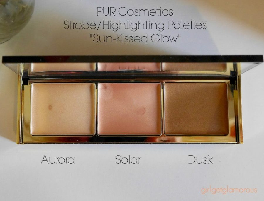 pur cosmetics sun kissed glow review best strobe highlighting palette cream natural beauty blog blogger los angeles