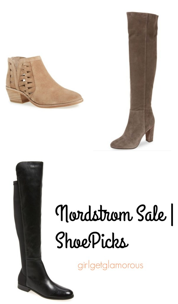 nordstrom sale top best shoe booties under $100 picks