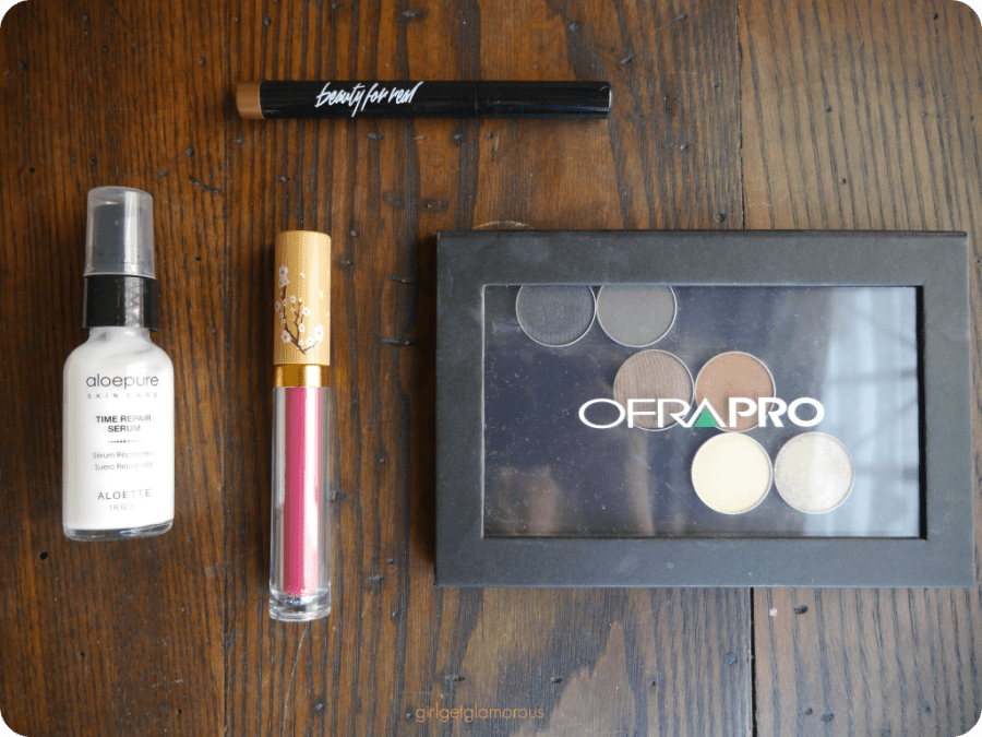 boxycharm subscription box makeup unboxing review