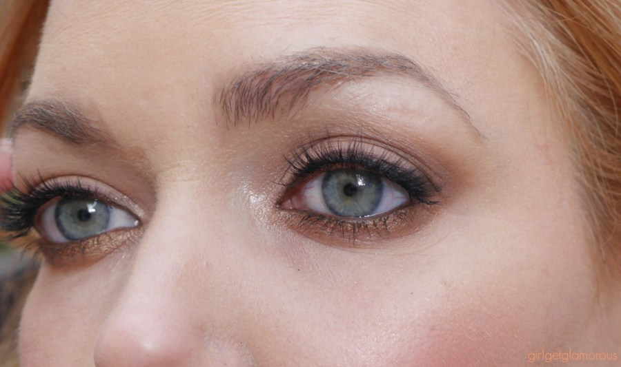 bronze eye shadow tutorial for redheds
