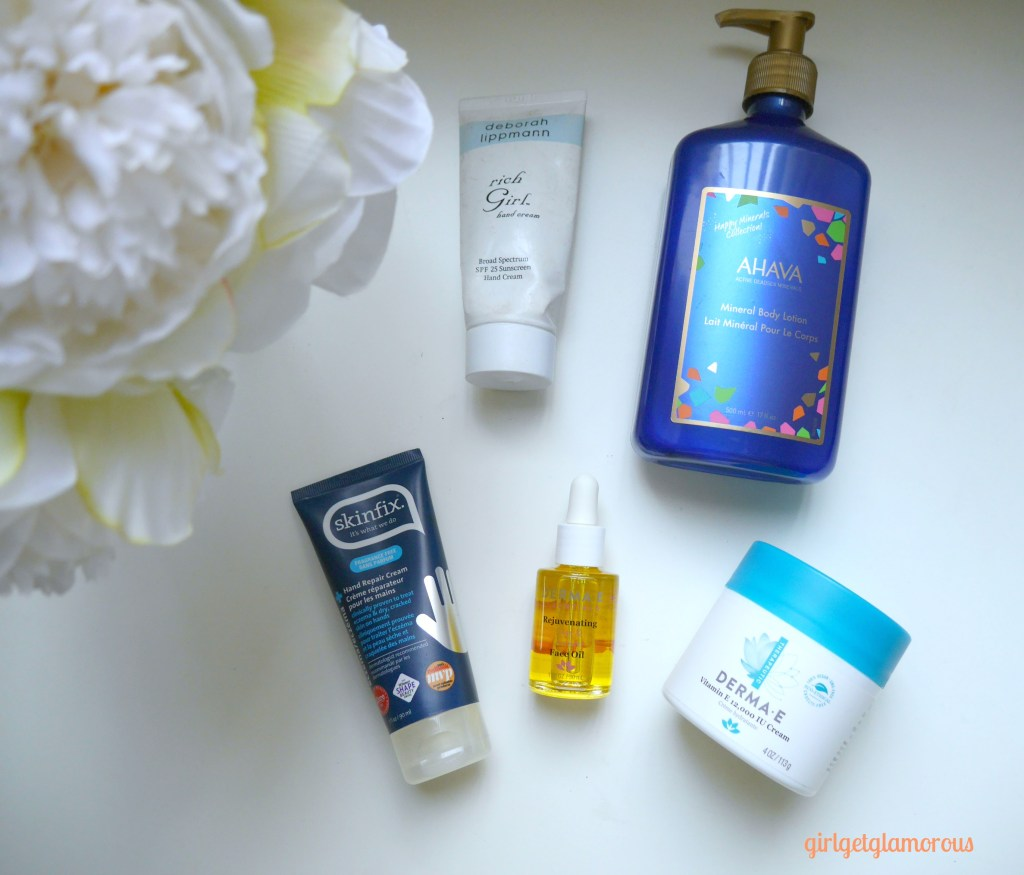 top best hand cream body lotion oil face winter skincare beauty blog los angeles