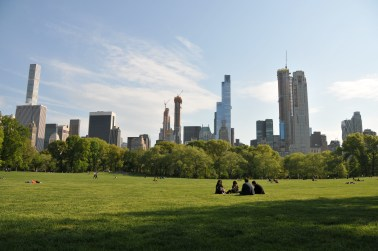 The Sheep Meadow in Central Park
