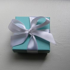Little Blue Box from Tiffany's