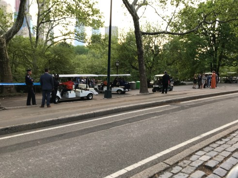 Private FOX event in Central Park