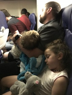 The family is exhausted after an amazing time in NYC