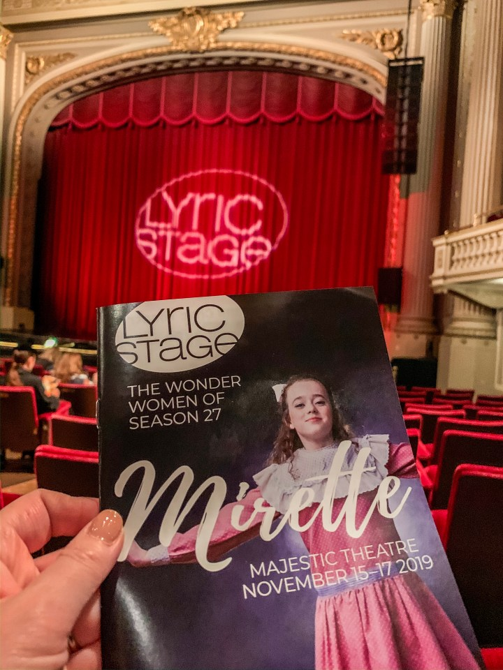 Lyric Stage Presents Mirette