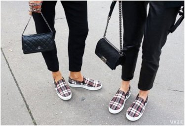 What not to wear Paris - fashion footwear