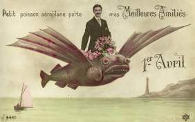 Poisson d'Avril France - April Fool's Day