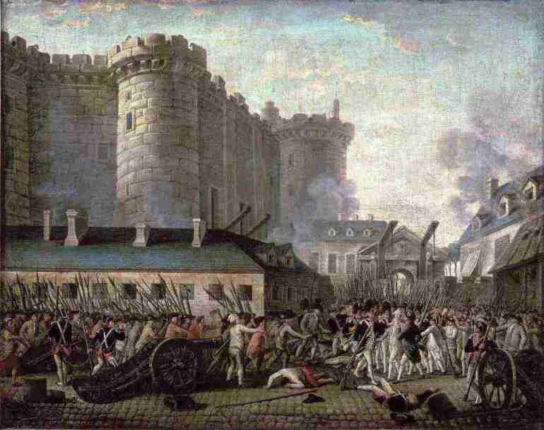 Bastille Day - The Storming of the Bastille