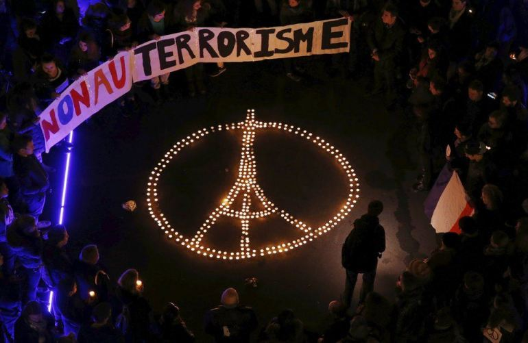#NousSommesUnis - Paris November 13, 2015