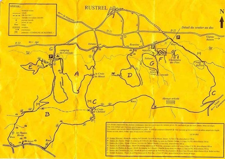 Colorado Provencal - Rustrel - Roussillon - Luberon Provence - Ochres