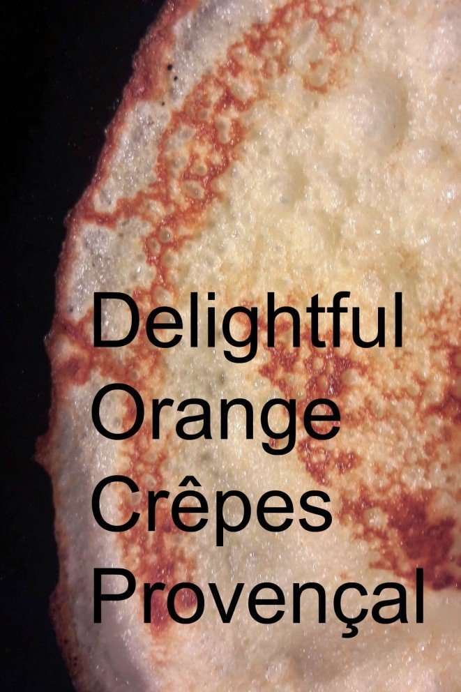 Orange Crepes Provencal