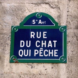 Friday Fun Facts - Rue du Chat qui Peche