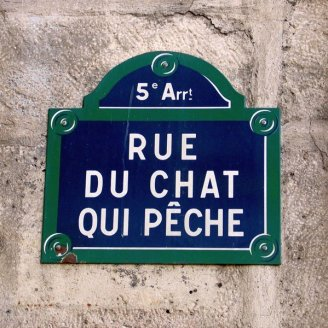Friday Fun Facts - Rue du Chat qui Peche
