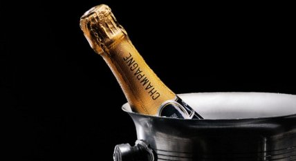 French Champagne - Bottle in bucket