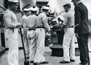 La Marinière - French Sailor's Shirt - at work