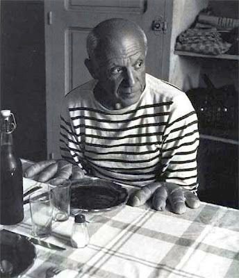 La Marinière - French Sailor's Shirt - Pablo Picasso