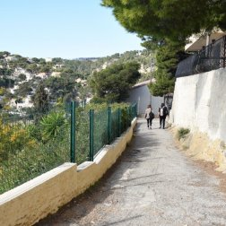 Provence's Blue Coast - path