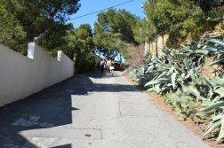 Provence's Blue Coast - Allée de la Falaise street