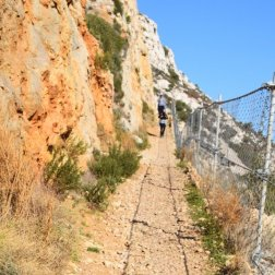 Provence's Blue Coast - path along train tracks