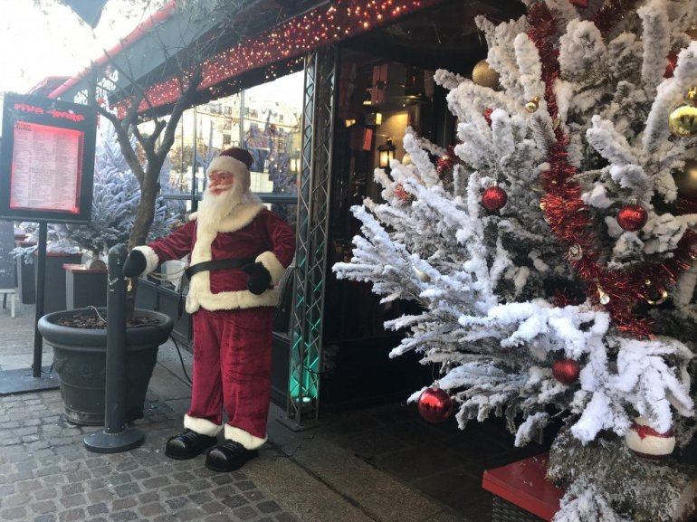 Parisian Holiday Season - Santa - Le Pere Noel