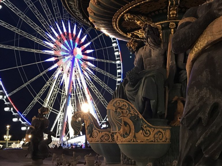 Parisian Holiday Season - La Grande Roue