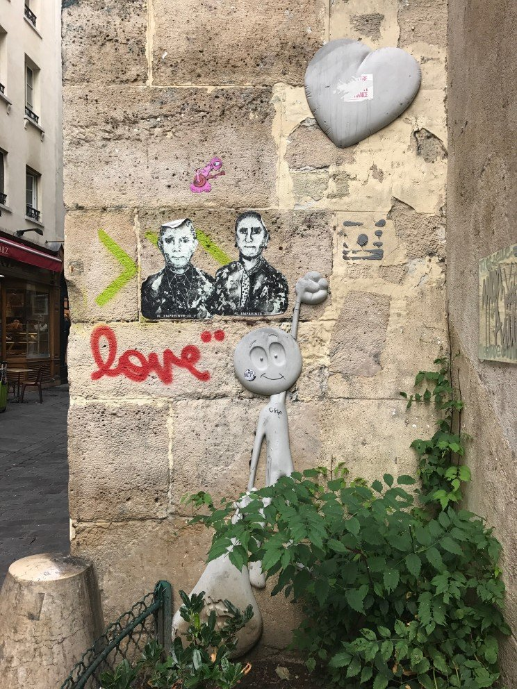 Parisian Street Art - Love