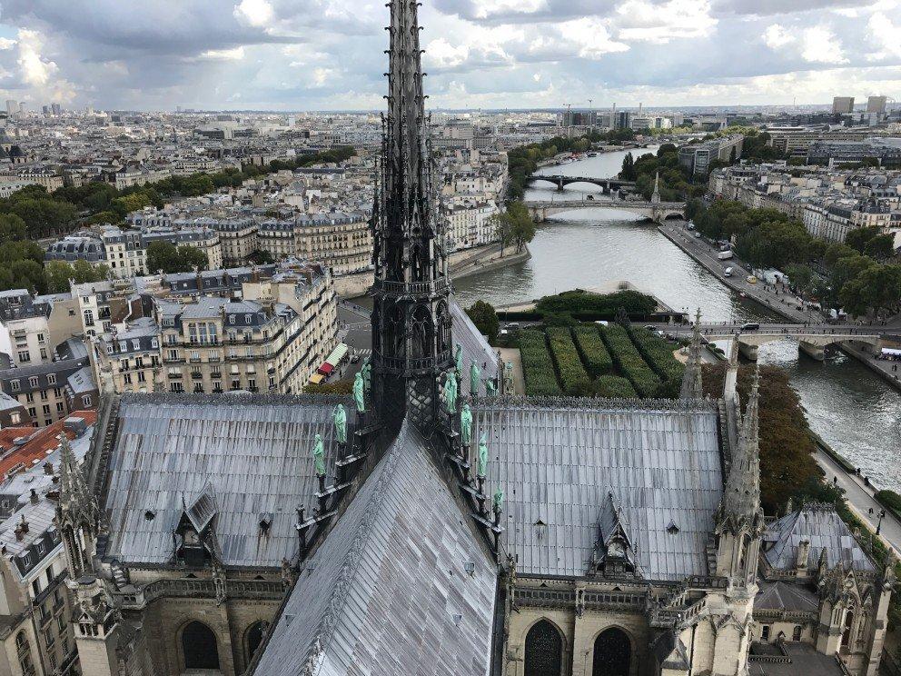 Honoring Notre-Dame-de-Paris - Roof