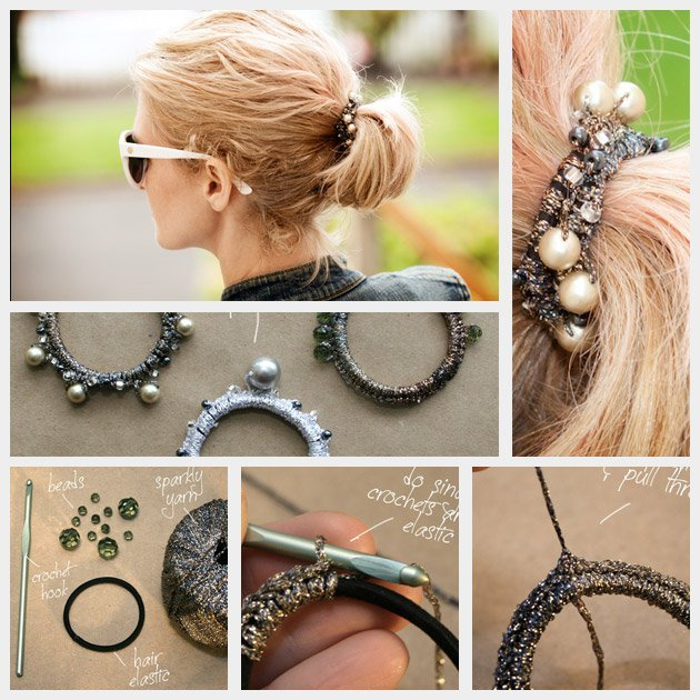 WHAT to wear in PARIS - DIY beaded hair elastic
