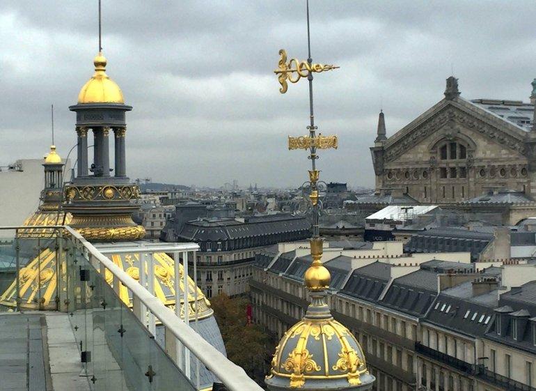 Silent Sunday - Paris - Le Printemps - Gilding