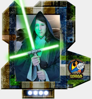 Dorian in Star Wars Cosplay
